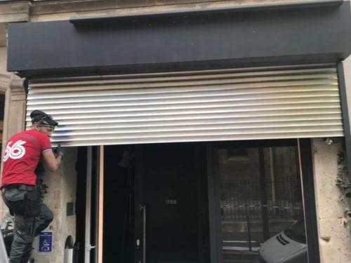 Réparation rideau métallique Val d'Oise